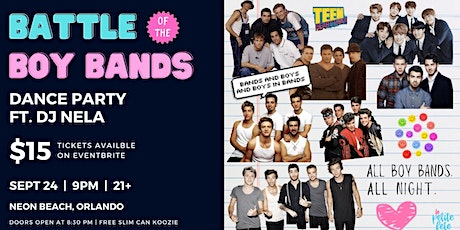 Battle of the Boy Bands Dance Party tickets