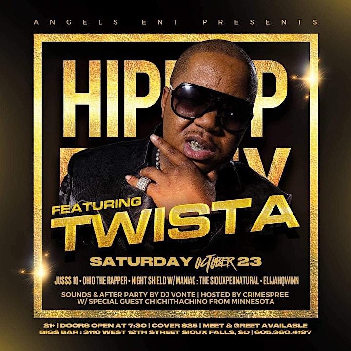 TWISTA at Bigs Bar Sioux Falls image