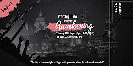 Worship Café: Awakening tickets