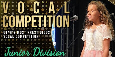 2021 Sing! Utah Summer Vocal Competition Round 3 Concert - Junior Division tickets