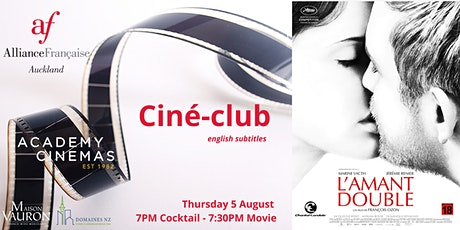 French Ciné-Club : L'Amant Double tickets
