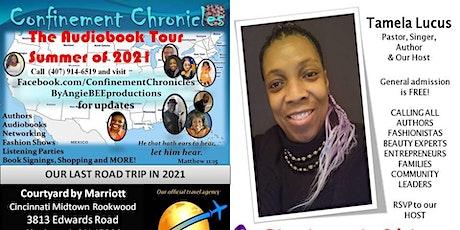 Confinement Chronicles - The  Audiobook Listening Tour  in CINCINNATI! tickets