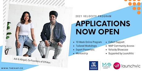 MAP21 Velocity Program - Ask Me Anything tickets