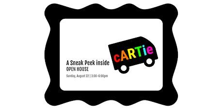 A Sneak Peek inside cARTie: Open House tickets
