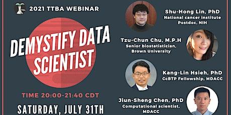 Demystify Data Scientist tickets