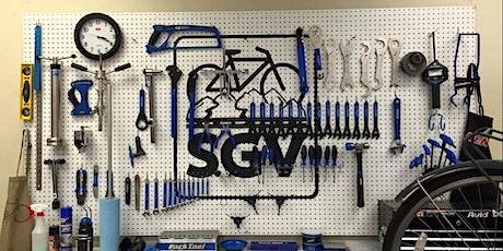 Bike Maintenance: Rear Derailleur Adjustment - In-Person tickets