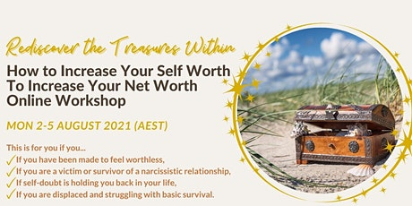 How to Increase Your Self Worth to Increase Your Net Worth tickets
