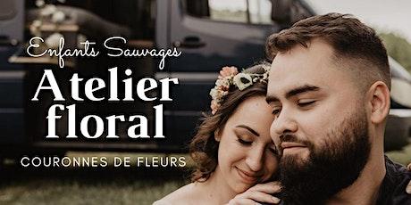Atelier floral - Couronnes de fleurs billets