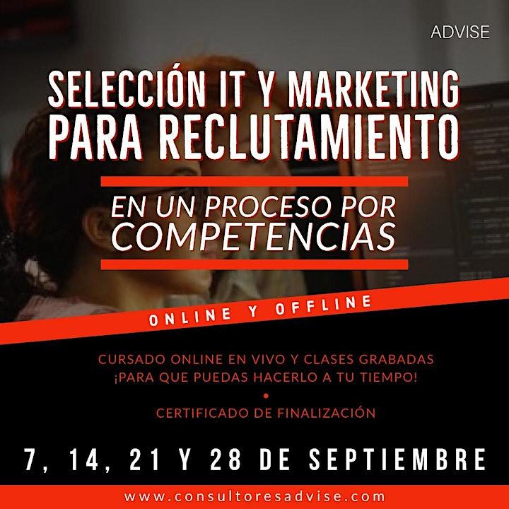Imagen de Selección IT y Marketing para reclutamiento (Online)