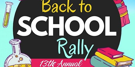 VENDORS ONLY REGISTRATION LINK: 13th Annual Citywide Back to School Rally tickets