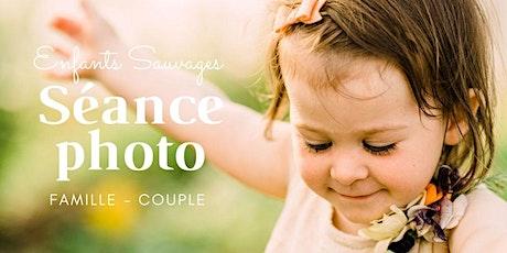 Séance photo familiale à la ferme florale Enfants Sauvages billets