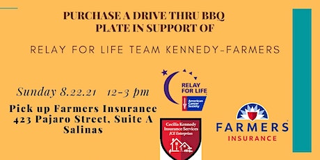 Relay For Life BBQ Fundraiser for Team Kennedy-Farmers tickets