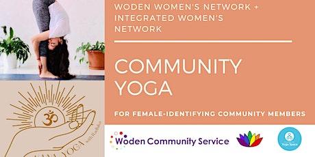 Community Yoga  (Woden Women's Network) tickets