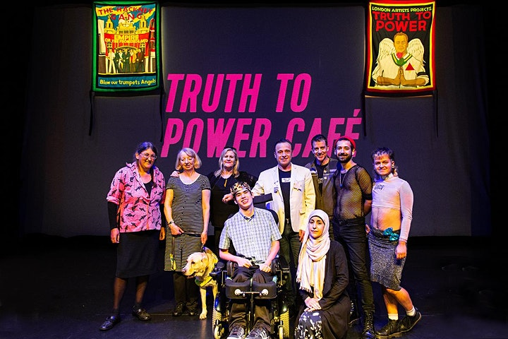 Truth to Power Café Community Information Session image