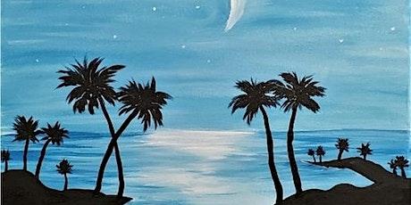 Paint & Sip - Fan Favorite! Midnight Island tickets