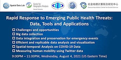 Rapid Response to Emerging Public Health Threats tickets