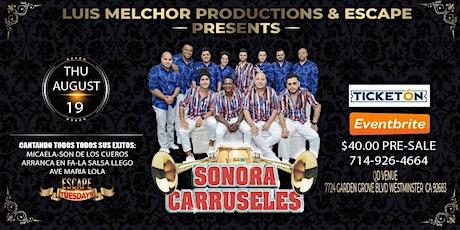SONORA CARRUSELES IN CONCERT tickets
