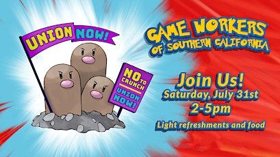 Organize 'em All Game Worker Gathering tickets