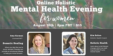 Online Holistic Mental Health Evening for Women tickets