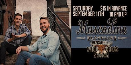 Muscadine Bloodline Live at Wild Greg's Saloon Pensacola tickets
