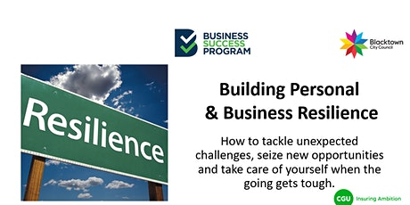 Building Personal & Business Resilience tickets