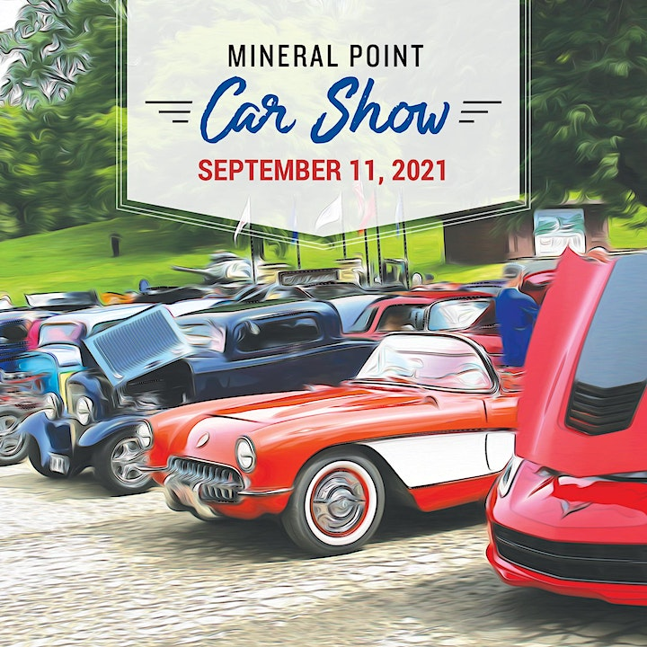 2021 Mineral Point Car Show image
