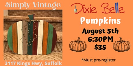 Dixie Belle Painted Pumpkins tickets