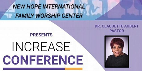 INCREASE Conference tickets
