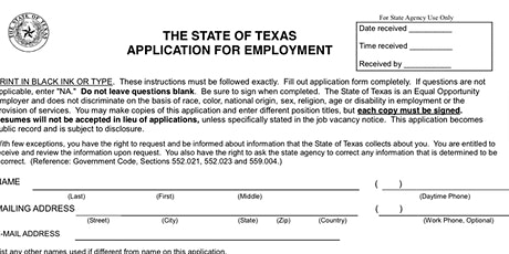 Tips  for Filling Out the State Application tickets