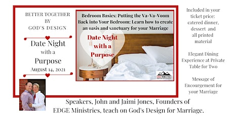 Date Night with a Purpose: Bedroom Basics tickets