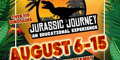 Jurassic Journey tickets