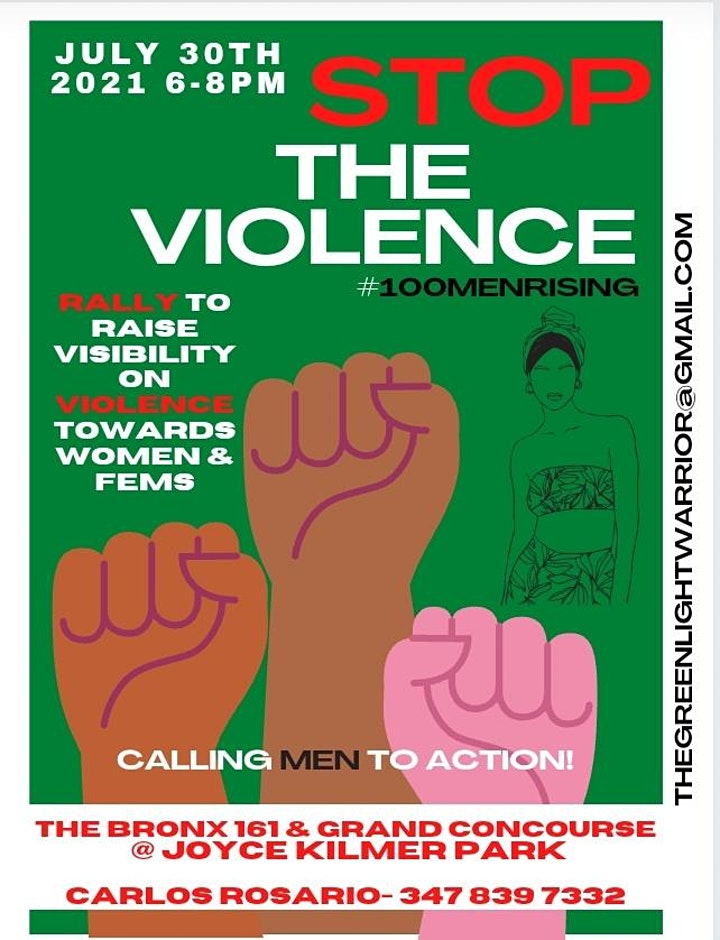 Stop the Violence! Rally to raise visibility on Violence towards Women image