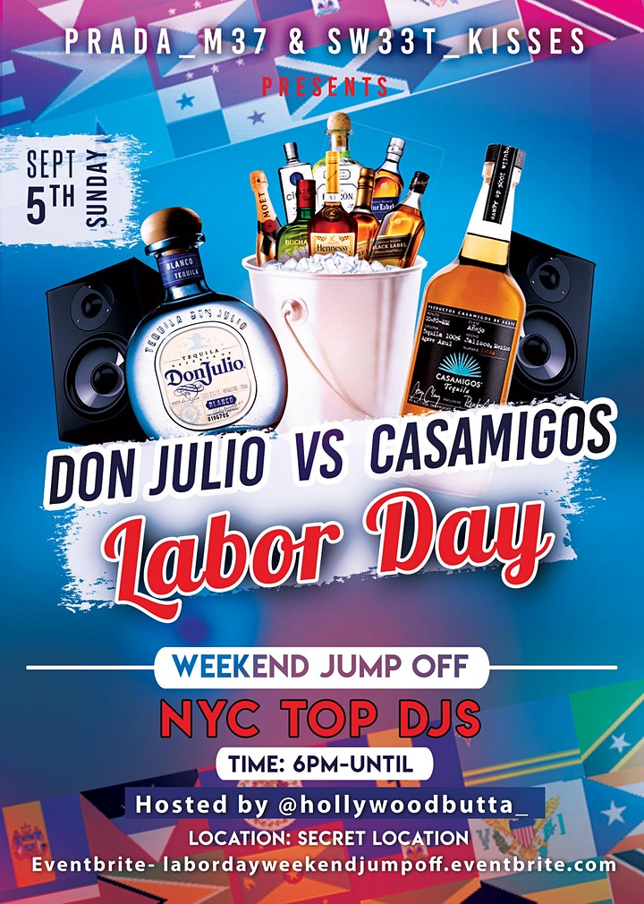 Don Julio vs Casamigos Labor Day Weekend Jump Off image