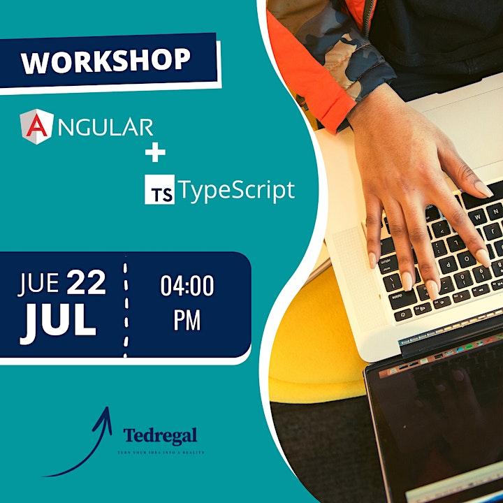 Imagen de WORKSHOP: Angular + TypeScript / TEDREGAL