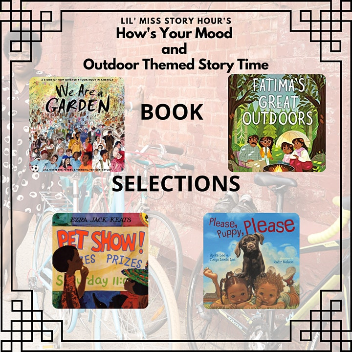 How's Your Mood and Outdoor Themed Story Time image