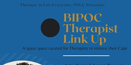 BIPOC Therapist Link UP tickets