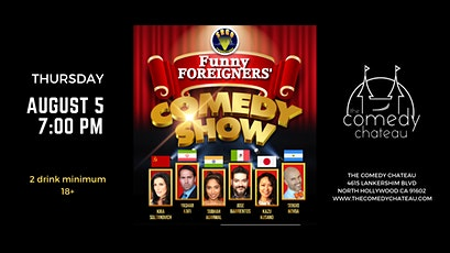 Funny Foreigners Comedy Show tickets