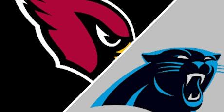 Ultimate Fan Experience: Arizona Cardinals vs Carolina Panthers tickets