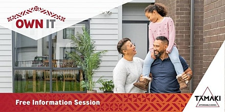 Free OWN IT Information Evening with Tāmaki Affordable Homes tickets