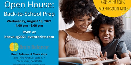 Open House: Back-to-School Prep tickets