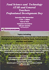 Food Science and Technology - Food sustainability tickets
