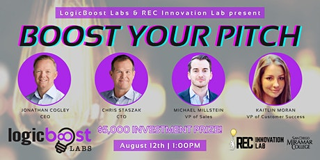 Boost Your Pitch: Pitch-off with Logic Boost Labs! tickets