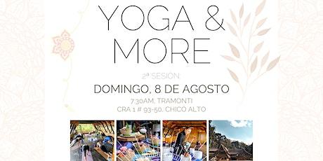 Yoga & More #2 - Day Sessions en Tramonti, Bogotá entradas