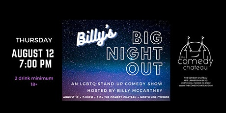 Billy's Big Night Out! tickets
