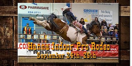 Hanna Indoor Pro Rodeo SATURDAY Show tickets