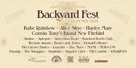 Backyard Fest tickets