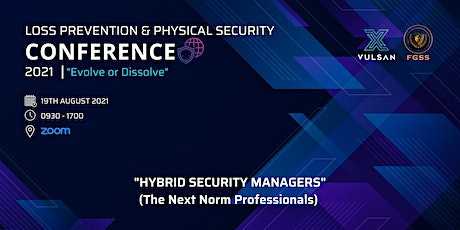 Hybrid Security Manager (The Next Norm Professionals) tickets