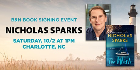 Meet & Get Photo with Nicholas Sparks for THE WISH at B&N - Charlotte, NC! tickets