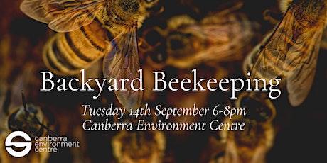 Backyard Beekeeping tickets