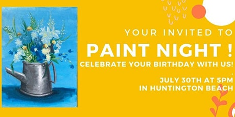 Best Paint and Sip Event in Huntington Beach tickets